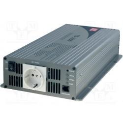 Convertisseur Mean-Well pur sinus 12Vdc / 230Vac 1000W