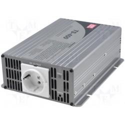 Convertisseur DC/AC Mean-Well pur sinus 24Vdc / 230Vac 400W