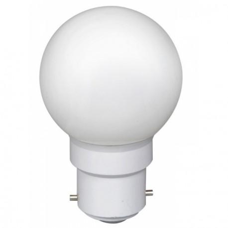 Ampoule à 6 led culot B22 45x70mm 230V blanche