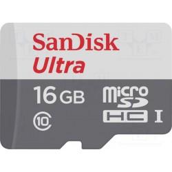Carte mémoire Micro SD-HC Sandisk 16Gb classe 10