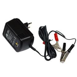 Chargeur pour batterie au plomb 2 / 6 / 12V 600mA