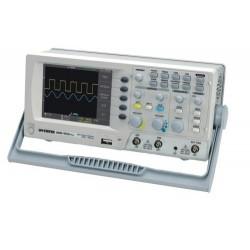 """Oscilloscope numérique LCD-TFT couleur 5,7"""" GW-Instek 2 voies 50Mhz"""