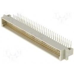 Connecteur din41612 a+c 64pts mâle coudé pour circuit imprimé