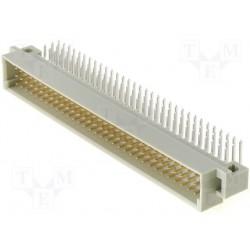 Connecteur din41612 a+b+c 96pts mâle coudé