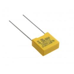 Condensateur X2 310Vac MKP 100nF au pas de 10mm