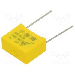 Condensateur X2 310Vac MKP 220nF au pas de 15mm