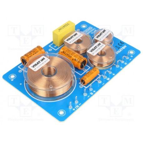 Filtre haut-parleur Visaton 3 voies 160W 12dB 8ohms 800 / 5Khz