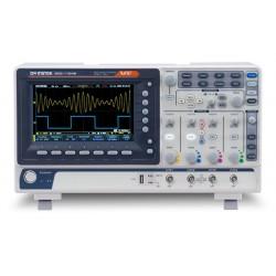 """Oscilloscope numérique LCD-TFT couleur 7"""" GW-Instek 4 voies 50Mhz"""