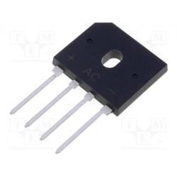 Pont de diode en ligne 5Amp. 200V
