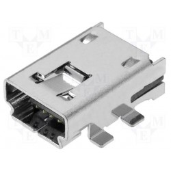 Embase mini USB CMS 4pts type A
