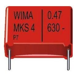 Condensateur Wima MKS4 20% 330nF 630V au pas de 22mm