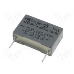 Condensateur X1/Y2 300Vac 10nF au pas de 15mm