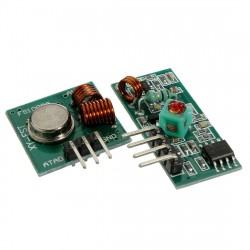 Ensemble émetteur récepteur 433Mhz