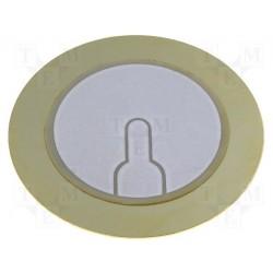 Disque piézo diamètre 35mm épaisseur 0,5mm