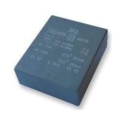 Transformateur moulé UI30 2x115Vac /  2x9Vac 4VA Myrra