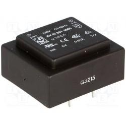 Transformateur moulé 230Vac / 6Vac 0,5VA