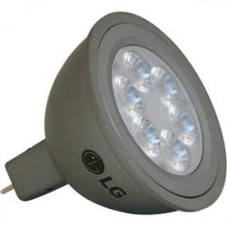 Lampe GU5.3 MR16 à led blanches 12V 6W 400lm 2700K