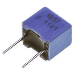 2 Condensateurs chimique HT 15µF 100VDC