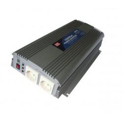 Convertisseur DC/AC Mean-Well 12Vdc / 230Vac 1500W