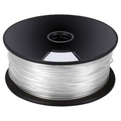 Bobine 1Kg fil ABS 3mm blanc pour imprimante 3D