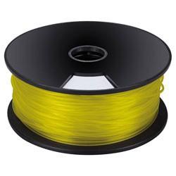 Bobine 1Kg fil PLA 3mm jaune pour imprimante 3D