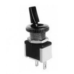 Interrupteur unipolaire 3A 250V à cosses D12mm