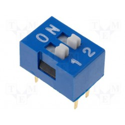 Inter dip-switch 2 contacts dil4