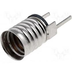 Douille pour ampoule E10 à souder sur circuit imprimé