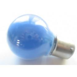 Ampoule culot B22 45x75mm 230V 15W bleue