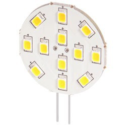Lampe G4 12 led blanches 8-30V 1,8W