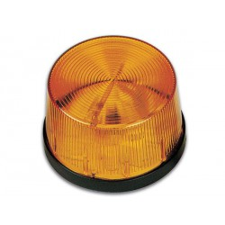 Flash stroboscopique orange 12Vdc 70x43mm