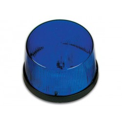 Flash stroboscopique bleu 12Vdc 70x43mm