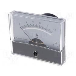 Galvanomètre 0 à 10 Amp. 60x47mm