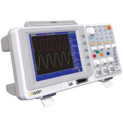 Oscilloscope de table Owon TFT color 2x200Mhz
