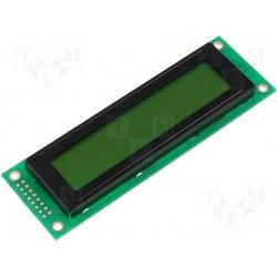 Afficheur LCD 2x20crts rétroéclairé