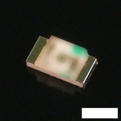 Led CMS 0805 blanche 120° 350mcd 20mA 3,6V