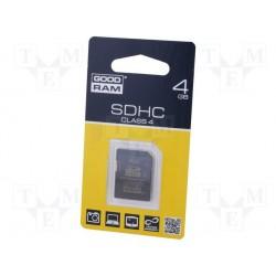 Carte mémoire SD-HC GoodRam 4Gb