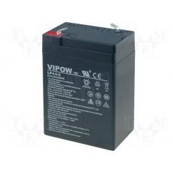 Batterie au plomb étanche 6V 4Ah 105x70x47mm