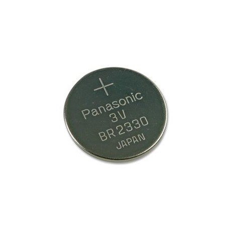 Pile lithium bouton 23mm 3v cr2330 distronic sarl - Pile bouton 3v ...