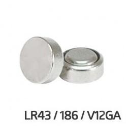 Pile bouton 1,5V 80mA AG12/LR43