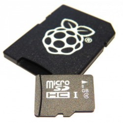 Carte Micro SD 8Gb Raspberry Pi2 Noobs 1.4