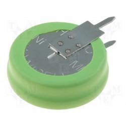 Accu Ni-Mh pour circuit imprimé 1,2V 80mA