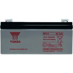 Batterie au plomb étanche 6V 3Ah 134x64x34mm