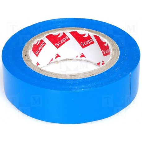 Ruban adhésif bleu 19mm x 20 mètres