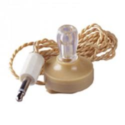 Ecouteur cristal haute impédance sortie sur jack 3.5mm mono