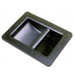 Poignée métallique 220x165x56mm
