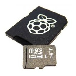 Carte Micro SD 8Gbo Raspberry B+ Debian Linux 6