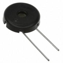 Buzzer piézo 12mm droit pour circuit imprimé