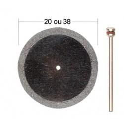 Disque à troncçonner diamenté 20mm + support