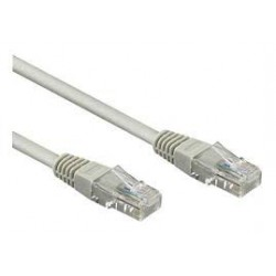 Cordon RJ45 ftp - Cat6 droit 2 mêtres gris